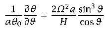 Integrated  		Thermal Wind Equation