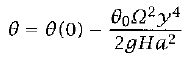 Potential  		Temperature Equation