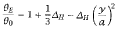 Modified Radiative Equilibrium 		Equation